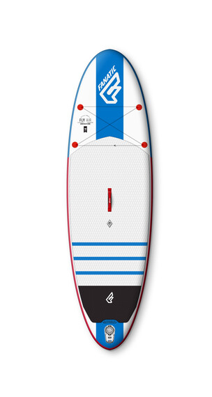 "Fanatic Fly Air 9'8"" - Tabla de natación - azul/blanco"